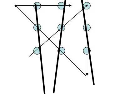 neun punkte mit vier strichen verbinden